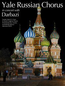 Yale Russian Chorus with Darbazi